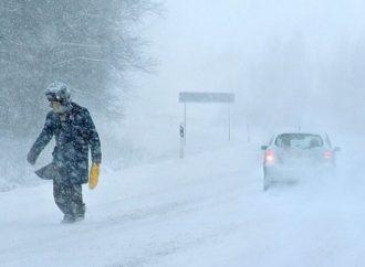Трасса А-298 в Саратовской области закрыта из-за сильной метели