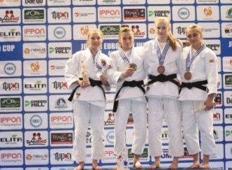 Глафира Борисова завоевала бронзу Кубка Европы по дзюдо