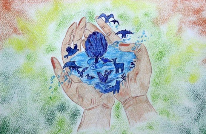 В Саратовской области стартовал всероссийский конкурс детского рисунка «Разноцветные капли»
