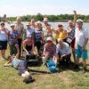 Сотрудники и проживающие Энгельсского дома-интерната приняли участие в экологическом Марафоне «Чистая Волга» и получили удовольствие от удачной рыбалки