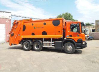 В Саратовскую область поставлена партия новой мусоровывозящей техники