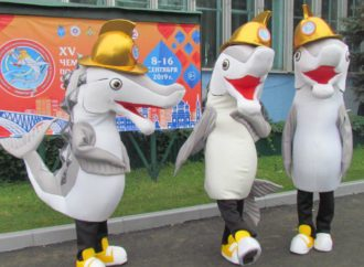 У Чемпионата мира по пожарно–спасательному спорту появился талисман