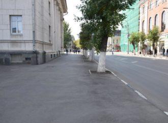 Завершен ремонт почти 50 тыс. кв. м покрытия тротуаров