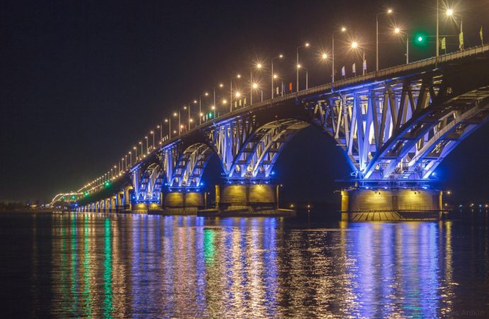 Саратовский мост ожидает капитальный ремонт
