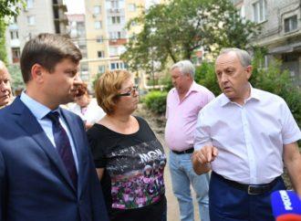 Валерий Радаев осмотрел строительство детсадов в Энгельсе