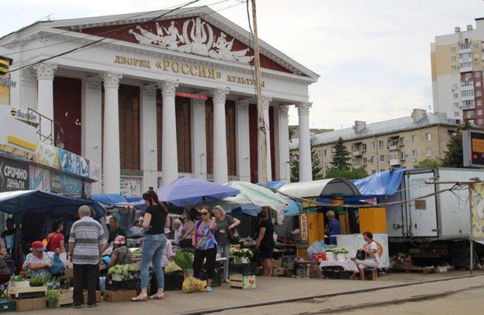 """Торговля перед ДК """"Россия"""" теперь незаконна"""