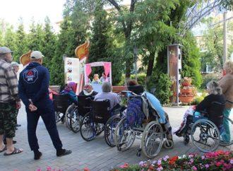 Энгельсский дом-интернат для престарелых и инвалидов присоединился к общегородскому празднеству, посвященному Дню города