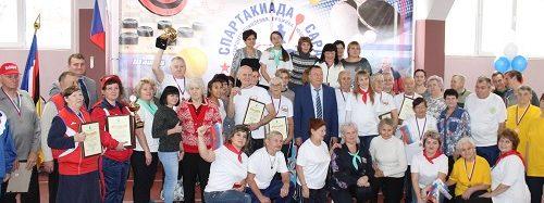Энгельсский дом-интернат стал победителем в Iй  Спартакиаде для граждан старшего поколения,  проживающих в домах-интернатах области