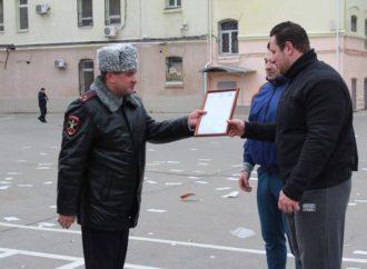 4 ноября состоялась открытая тренировка с сотрудниками полиции