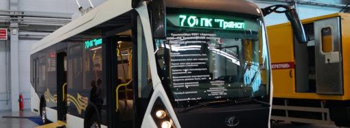 Троллейбусы будущего, немного о презентации тс «Адмирал»