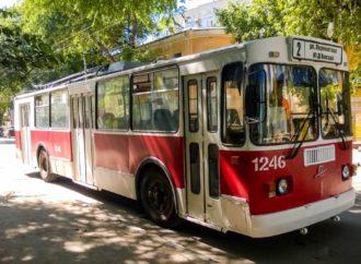Временно закрывается движение троллейбусного маршрута