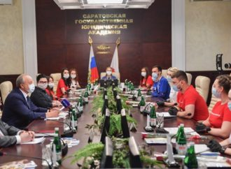 Глава региона встретился с волонтерами Всероссийского общественного корпуса «Волонтеры Конституции»