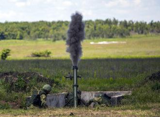 На конкурсе «Мастера артиллерийского огня» минометчики 631 учебного центра лидируют на этапе индивидуальной гонки