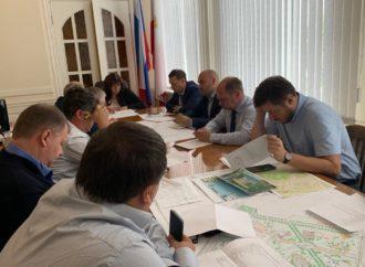 В городской администрации состоялось совещание по вопросу подготовки к отключению водоснабжения в Заводском, Кировском и Фрунзенском районах