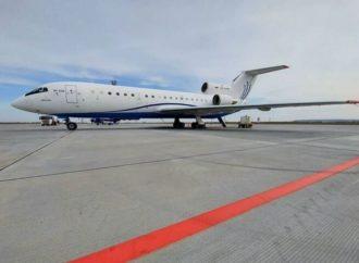 В аэропорт «Гагарин» прилетал уникальный самолет Як-42