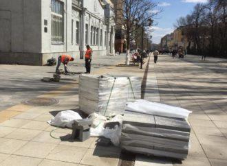 В Саратове восстановлено 156 участков пешеходных зон