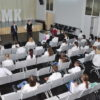 Старт в профессию: будущие фельдшеры встретились с руководством саратовской скорой.