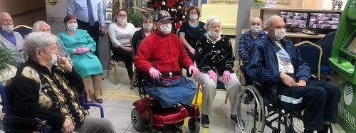 В Энгельсском доме-интернате прошли праздничные мероприятия, посвященные Международному Дню инвалидов