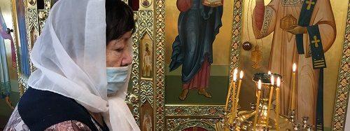 В Энгельсском доме-интернате состоялось традиционное празднование Крещения Господне