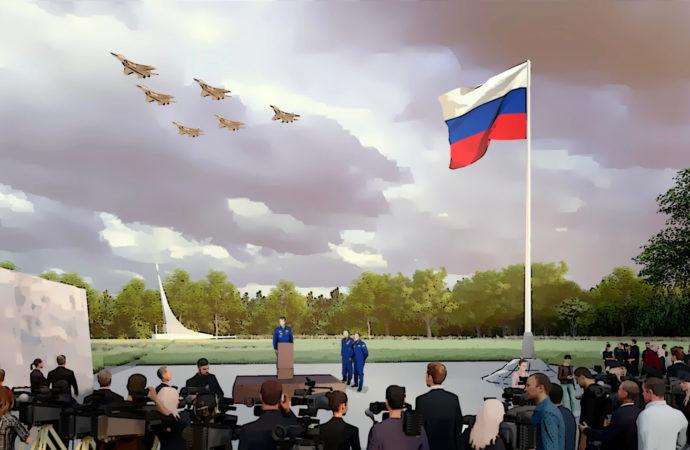Президент России посетил парк покорителей космоса в Саратове