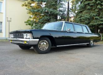 На Авито появился представительский лимузин времен Брежнева ЗИЛ-114 за 19 000 000 рублей
