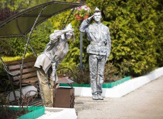 В Энгельсском доме-интернате прошло торжественное мероприятие «Нити памяти», посвященное празднованию Великой Победы