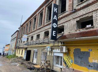 На Новой Набережной  начали благоустройство фасадов