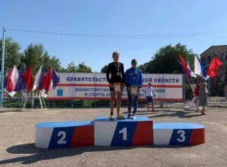 Елизавета Янучек – победитель первенства России по гребле на байдарках и каноэ