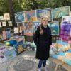 Художница Энгельсского дома-интерната приняла участие в ярмарке мастеров и художников, приуроченной ко Дню города Саратова