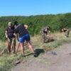 В Саратове сотрудники ОМОН приняли участие во Всероссийской экологической акции «Зеленая волна»
